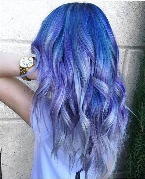 17 Best Ideas About Blue Hair Highlights On Pinterest