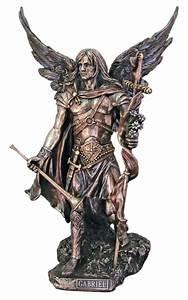 St. Michael The Archangel without the devil Bronze Statue