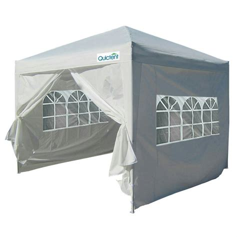 quictent silvox xez pop canopy gazebo party tent white waterproof ebay
