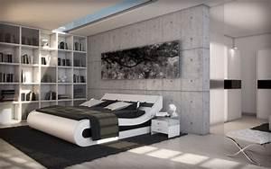 Bett 200x220 Weiß : polsterbett kendo 200x220 weiss 200 x 220 cm wasserbetten rahmen offizielle hersteller ~ Indierocktalk.com Haus und Dekorationen
