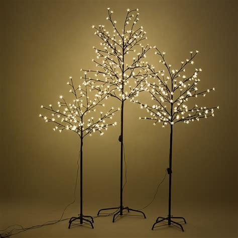 home christmas cherry blossom led tree light floor lamp