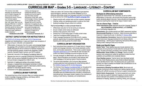 2nd grade curriculum outline curriculum for elementary grades kcc 141 chapter