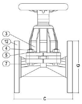 GS51 DIN HW - Diaphragm Valves