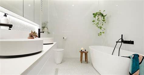 block  bathroom reveals homes  love