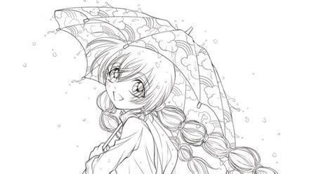 Umbrella Girl (portrait