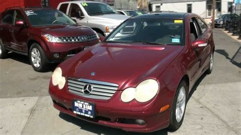 We analyze millions of used cars daily. 2003 Mercedes-Benz C230 Kompressor Coupe - YouTube