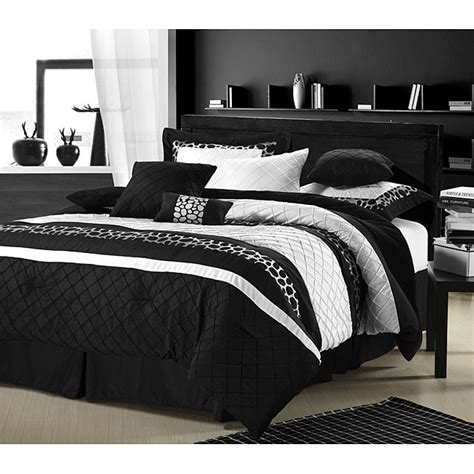 black and white comforter sets cheetah black white oversized 8 comforter set