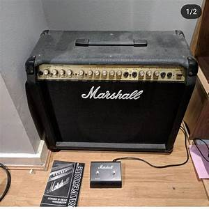 Marshall Valvestate 8080 With Channel Changing Pedal