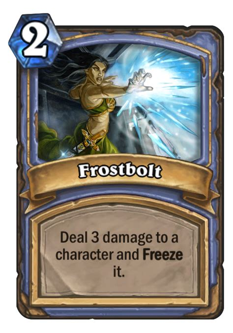 basic shaman deck hearthstone 2014 frostbolt hearthstone card