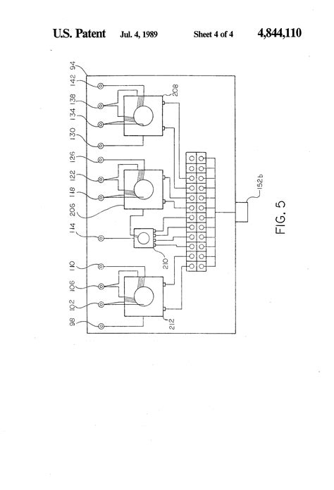 patent us4844110 system for remotely controlled