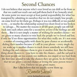 25+ best Another chance quotes on Pinterest ...