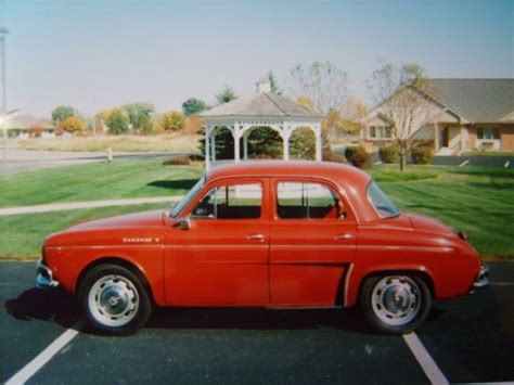 Renault Dauphine For Sale by 1965 Renault Dauphine For Sale