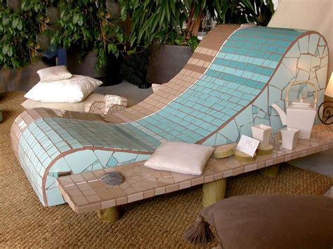 chaises longues de piscine gt chaises longues manonlisa mosaïque mosaics