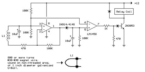 ac power current detector circuit  lm
