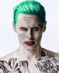 Colored pencil drawing of Jared Leto as the Joker in ...