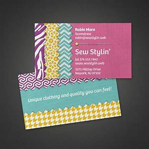 Crafts fabric business card vistaprint business card for Craft business cards ideas