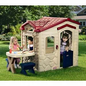 Little Tikes Picnic on the Patio Plastic Playhouse ...