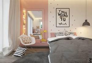 Chambre Fille 4 Ans : couleur des murs dune chambre dados fille de 14 ans ~ Teatrodelosmanantiales.com Idées de Décoration