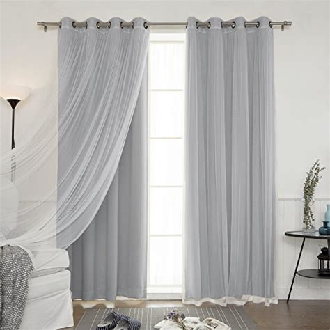 colorful kitchen curtains best home fashion mix match tulle sheer lace blackout 2343