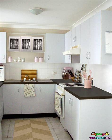 painting veneer kitchen cabinets white ديكور مطابخ غير مكلفة بيضاء جديدة وعصرية ومميزة 7369