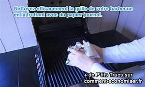 Comment Nettoyer Une Grille De Barbecue Tres Sale : comment nettoyer la grille du barbecue avec du papier journal ~ Nature-et-papiers.com Idées de Décoration