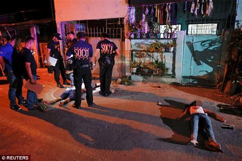 Dead Drug War Victims Philippines