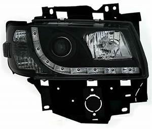 T4 Led Scheinwerfer : scheinwerfer mit led f r vw t4 bus in schwarz ad tuning ~ Jslefanu.com Haus und Dekorationen