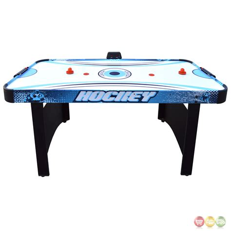 air hockey table game enforcer 5 5 ft air hockey game table with electronic