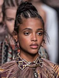 French Braid Hairstyles for Black Women