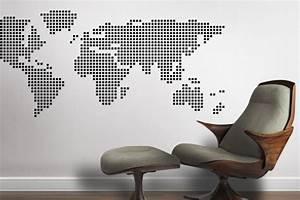 Carte Du Monde Design : afficher le monde st phanie b rub design ~ Teatrodelosmanantiales.com Idées de Décoration