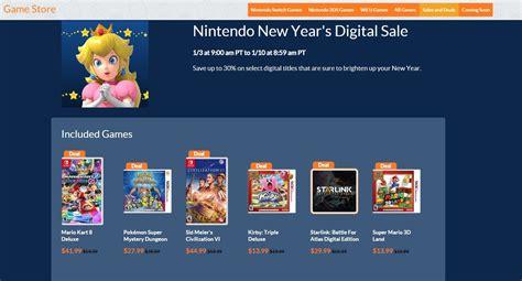 Nintendo lance la vente numérique du Nouvel An - Serial Gamers