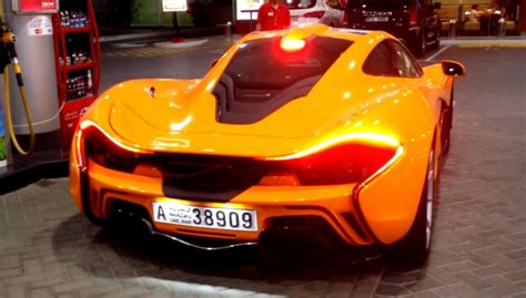Mclaren P1 Out And About In Dubai