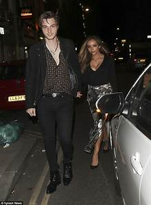 Busty Jade Thirlwall enjoys date night with Jed Elliott