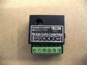 12v Dc 30a Auto Switch Dual Charge Combi Smart Relay  Towing  Caravan  Motorhome