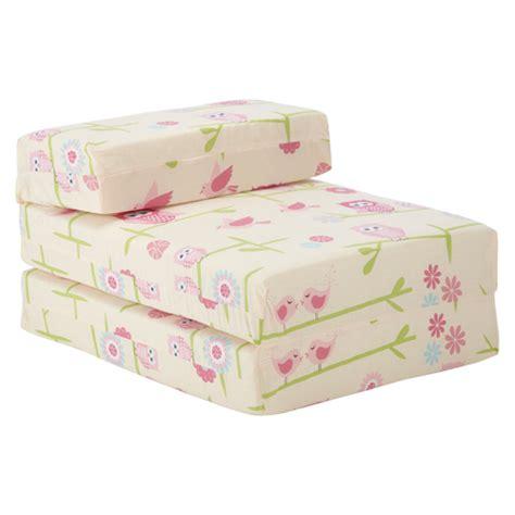kids character foam fold  sleep  guest single futon
