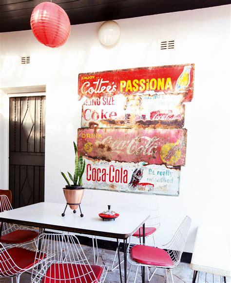 cuisine coca cola vintage deco 1 inspiration melborne cuisine affiche coca cola