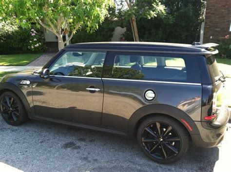 auto air conditioning service 2011 mini cooper clubman transmission control purchase used 2011 mini cooper s clubman hatchback 3 door 1 6l in beverly hills california