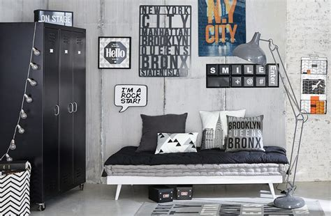 chambre ado gar輟n york awesome deco chambre ado garcon ideas design trends 2017 shopmakers us
