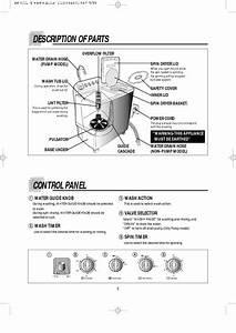 Schematic Diagram Manual Daewoo Dw 4010 Washing Machine