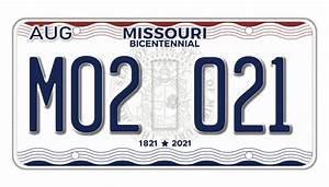 New Mo License Plates Available Oct  15