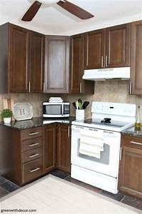 7 ways to update your kitchen when you can39t renovate With kitchen colors with white cabinets with sticker love you