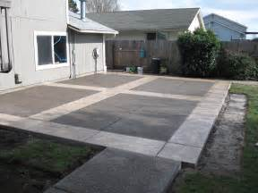 concrete ideas for backyard creating patios driveways pathways pacific brothers concrete