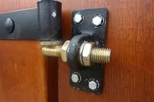 Gond De Portail Réglable Sur Platine à Visser : projet portail battant en bois page 2 ~ Dailycaller-alerts.com Idées de Décoration
