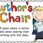 Authors Chair Clipart