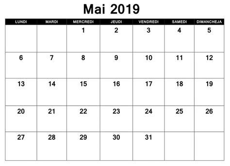 mai calendrier  excel excel calendar template