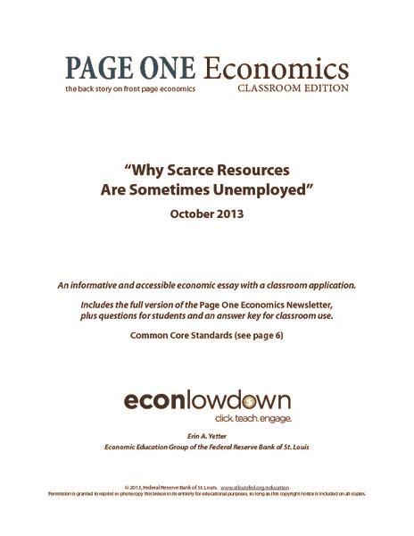 Types Of Unemployment Worksheet Oaklandeffect
