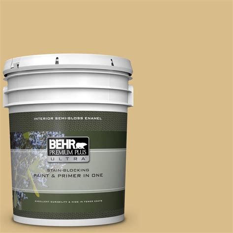 behr premium plus ultra 5 gal mq2 18 honey tea semi