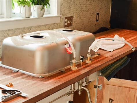 do it yourself kitchen countertops do it yourself butcher block kitchen countertop hgtv