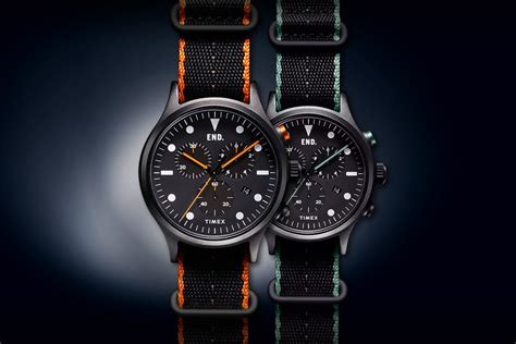 timex blackout timepiece project hypebeast