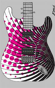 Custom Guitar Paint Designs | cool guitar paint designs ...